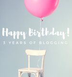 3 Years of Blogging Giveaway!