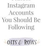 Fitness Instagram Accounts to Follow {January Wellness Series}