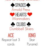 Deck of Cards Boot Camp Workout